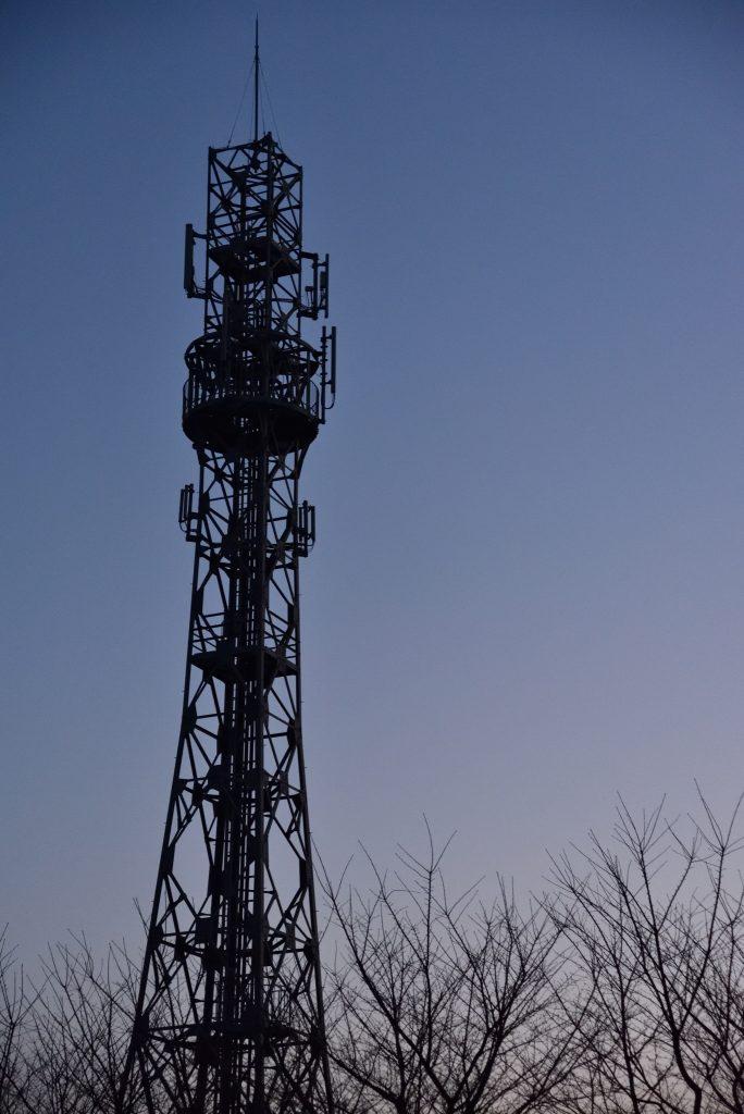 南林間9丁目鉄塔です