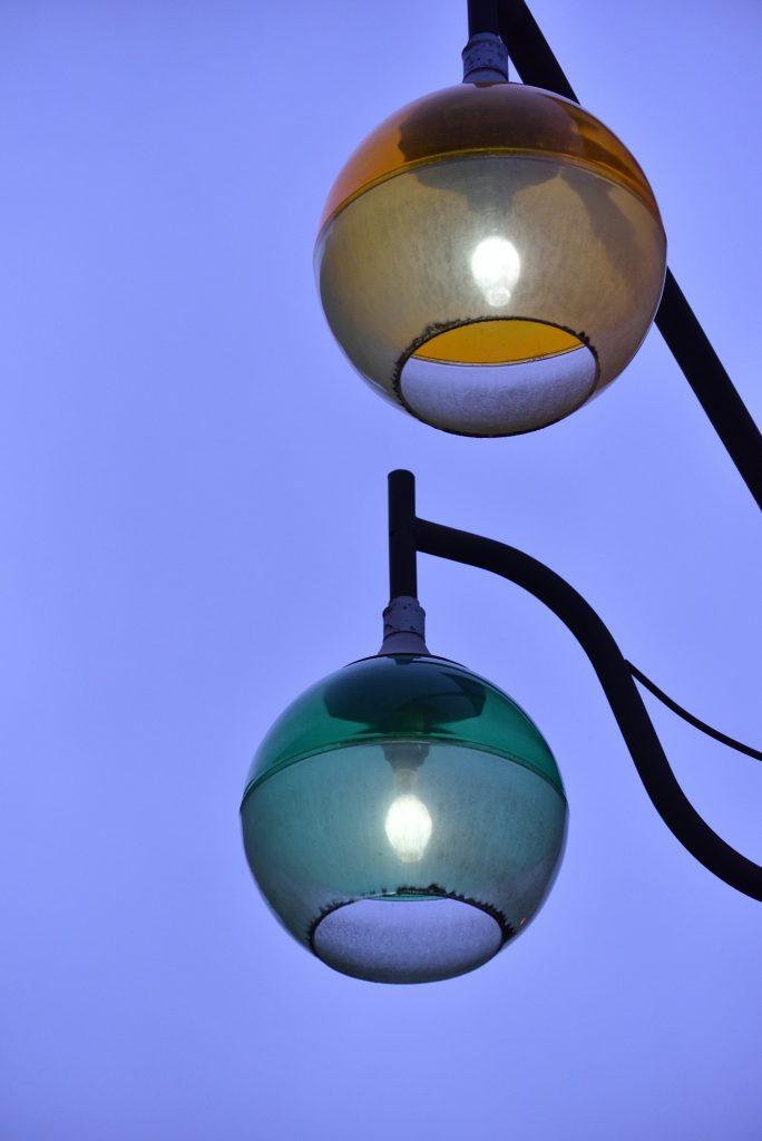南林間2丁目街灯です