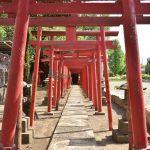 笠森稲荷神社の鳥居です